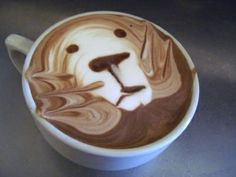 """what kind of espresso coffee which called latte art ? Probably not many people who never heard the word """"Latte Art"""" but as Coffee Lovers wo. Cappuccino Art, Coffee Latte Art, I Love Coffee, Coffee Break, Best Coffee, Lion Coffee, Coffee Coffee, Coffee Shops, Drink Coffee"""