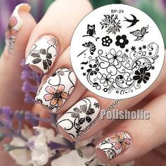 60-Designs-BORN-PRETTY-Nail-Art-Stamp-Template-Image-Stamping-Plate-DIY-Manicure