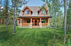 Rustic Cabin Bursting With Charm! (HWBDO76646) | Cabin House Plan from BuilderHousePlans.com