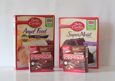 3 2 1 cake with instant pudding! Mix mix, food cake mix, and 2 boxes of instant pudding mix. Mug Recipes, Cake Mix Recipes, Dessert Recipes, Ww Desserts, Healthier Desserts, Juice Recipes, Baking Recipes, Delicious Desserts, Cupcakes