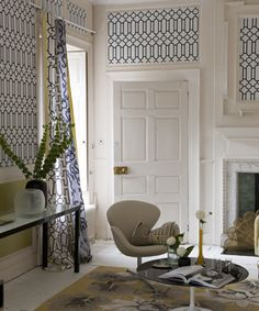 Designers Guild - Nabucco - Porden - great for hall and stairs