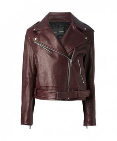 Proenza Schouler biker jacket Love the fact that Moto jackets are back in stock Leather Jackets Online, Designer Leather Jackets, Leather Jacket Outfits, Leather Skirt, Outfit Combinations, Who What Wear, Autumn Winter Fashion, Fall Outfits, Simple Outfits