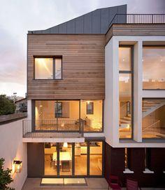 Townhouse Montrouge | ATELIER D'ARCHITECTURE ALEXANDRE DREYSSÉ | Photo: Guillaume Clement / Atelier Dreyssé | Archinect