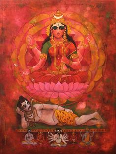 Goddess Shodashi is also known as Tripura Sundari. As the name suggests Goddess Shodashi is the most beautiful in all three worlds. In Mahavidya, She represents Goddess Parvati also known as Tantric Parvati. Goddess Shodashi is also known as Lalita...