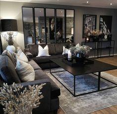 Living Room Decor Cozy, Home Living Room, Apartment Living, Home Room Design, Home Interior Design, Living Room Designs, Desgin, First Apartment Decorating, Home And Deco
