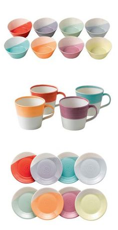 Wedgewood Lura China.  Loving all these beautiful colors!
