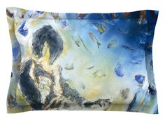 Riders on the Storm by Josh Serafin Piano Player Cotton Pillow Sham