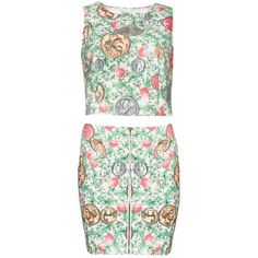 Coin Matching Separates (165 BRL) ❤ liked on Polyvore featuring pixiemarket