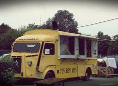 Citroen HY pzzamobile. Food truck.