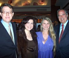 Robert and Suzanne Nederlander with Bonnie Comley