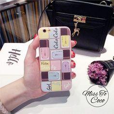 Cool Lady Lidschatten und Nagellack TPU all cover Handyhülle für Iphone6/6s/6plus