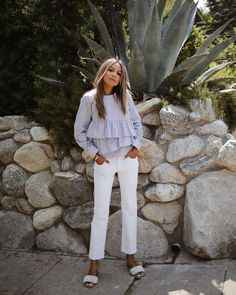 Beautiful day wearing our Victoria Top! 💫 | shopsincerelyjules.com
