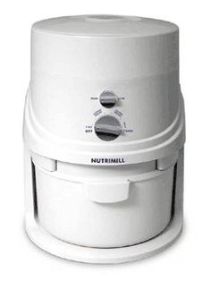 NUTRIMILL http://www.breadbeckers.com//store/pc/Nutrimill-Grain-Mill-w-FREE-Shipping-9p1824.htm