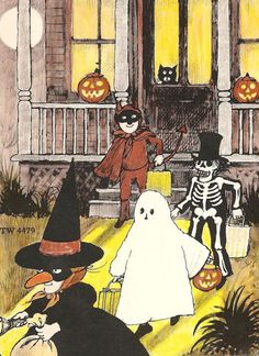 Jack Prelutsky / It's Halloween / Art by Marylin Hafner