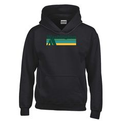 Retro Camping - Washington Youth Hoodie/Sweatshirt