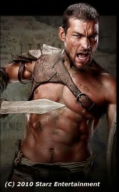 Andy Whitfield Played Spartacus on the tv series