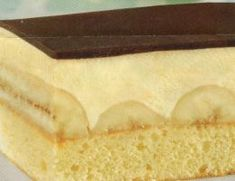 Bananenschnitten Party Buffet, Yams, Cheesecake, Deserts, Dinner Recipes, Food And Drink, Sweets, Cake Slices, Alphabet