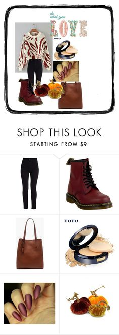"""stily"" by suncica-72 ❤ liked on Polyvore featuring Levi's, Dr. Martens and J.Crew"
