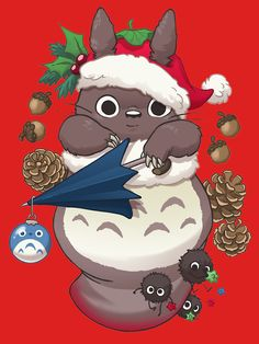 Totoro's Christmas by blakejoke