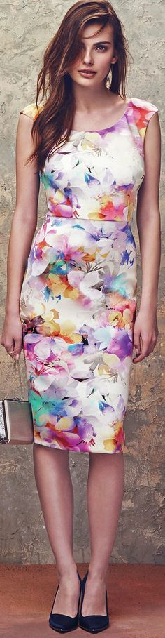 color your wardrobe with groovy florals this spring and summer - latest fashion trends - http://www.boomerinas.com/2015/04/07/7-florals-for-spring-summer-color-your-wardrobe/