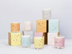 Bon Lux Candles - Identity & Packaging - Holly Canham