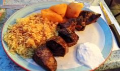 Review: Astoria Shish Kabob House | live.love.obsess Shish Kabobs, Live, House, Food, Meal, Eten, Haus, Meals, Homes
