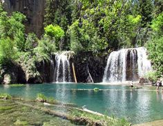 GMA's Most Beautiful Places in America: 15 of Your Most Spectacular Spots  Hanging Lake, CO