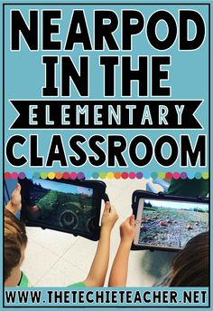 Using Nearpod in the Elementary Classroom: the who, what, when, where and why of using this digital tool that is both web-based and a app! Technology Lessons, Technology Tools, Computer Lessons, Teaching Technology, Technology Integration, Computer Lab, Medical Technology, Energy Technology, Elementary Education