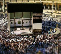 Inside the kaaba.subhanAllah