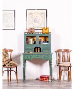 Escritorio Antiguo Restaurado Christopher Bar Cart, Furniture, Home Decor, Ideas, Diy, Antique Painted Furniture, Refurbished Furniture, Home Decorations, Wooden Desk