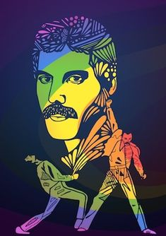 illustrator of funny greetings cards and illustration prints Queen Art, Greatest Rock Bands, Queen Freddie Mercury, Funny Greeting Cards, Painted Clothes, Killer Queen, Save The Queen, Rock Art, Cool Bands