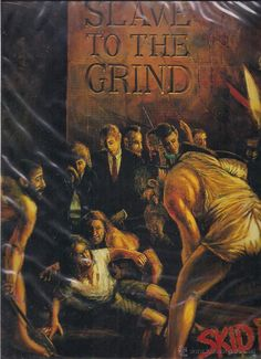 SKID ROW - SLAVE TO THE GRIND,  ATLANTIC 1991 GERMANY