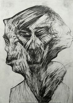 "Saatchi Online Artist: Milan Nenezic; Pencil 2006 Drawing ""Personality confusion """