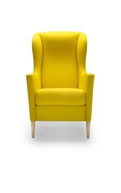 Élancé et distingué, ce fauteuil bergère Oblic vous propose des lignes sinueuses très modernes alliées à un confort irréprochable.   Coloré, il apporte un charme spécial à votre intérieur et une fraîcheur raffinée.