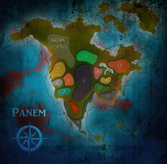 25 Best Hunger Games Maps images   Hunger games map, Hunger games ...