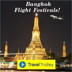 Cheap Flights to Bangkok Bangkok Flights from UK at Travel Trolley Bangkok Flights Now your journey to Bangkok will be even more fun! Grab exclusive deals and discounts on all flights bound for Bangkok with Travel Trolley! Hurry Book Now! All Flights, Book Cheap Flights, Travel Trolleys, Sea Diving, Cheap Flight Tickets, Dirt Cheap, Night Time, More Fun