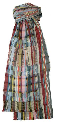 Wallace#Sewell Silk and Wool Crepe Scarf