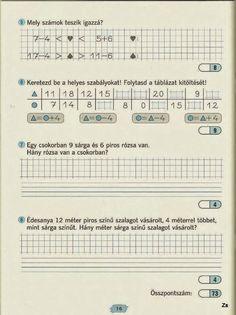 Albumarchívum Paper Decorations, Mathematics, Worksheets, Periodic Table, Sheet Music, Archive, Album, Teaching, School