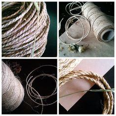 What string or ropes are safe to use in DIY pet rabbit toys