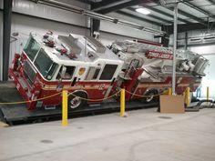 ◆Seagrave Builds New Indoor Tilt Table and Pump Test Facility◆