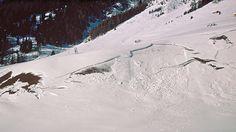 Gleitschneeriss im Schmirntal. Innsbruck, Bergen, Mountains, Nature, Travel, Outdoor, Research, Safety, Voyage