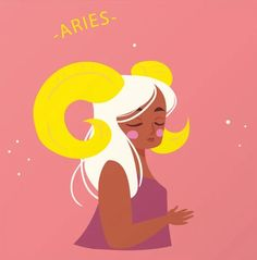 Aries Art Print by gnomeapple - X-Small Aries Art, Aries Astrology, Pisces, Zodiac Signs, Disney Characters, Fictional Characters, Aurora Sleeping Beauty, Art Prints, Illustration