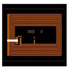HF 14443A  RFID wet inlay 7024