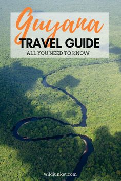 Any trip to Guyana is an adventure. This Guyana travel guide will help you plan an epic adventure in this largely unexplored country. Bolivia Travel, Brazil Travel, Argentina Travel, Peru Travel, Backpacking South America, South America Travel, South America Destinations, Travel Destinations, Short Trip