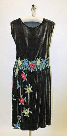 Dress  Edward Molyneux, 1922  The Metropolitan Museum of Art