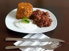 Sonntagsresteküche Hackfleischpfanne mit Gemüsegupf und Kräuterdip  #homemade #leckerschmecker #lowcarb #gemüsekistengemüse