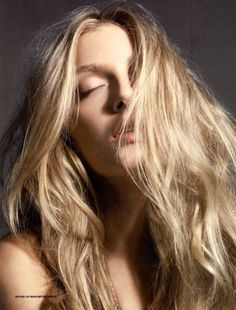 perfect blonde lily donaldson