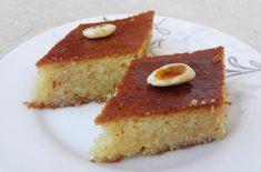 Shamal with yogurt Greek Sweets, Greek Recipes, Cornbread, Yogurt, Biscuits, Cheesecake, Deserts, Dinner, Cooking