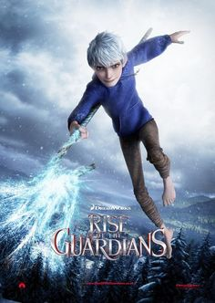 Jack Frost Rise of the Guardians Movie Poster