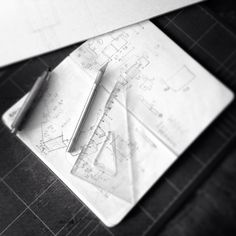 Let the #maquette begin!  ___  #archmazelab #architecture #architect #freehand #handmade #cutter #pencil #model #sketches #sketch #hardwork #illustration #art #drawing #milan #expo #expo2015
